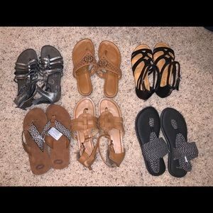 Shoes - Bundle of sandals